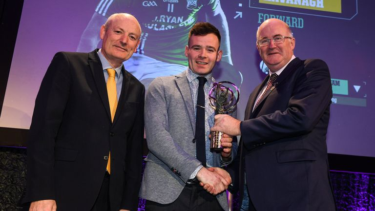 Kavanagh received an AIB club award for his performances with St Mullins in 2019