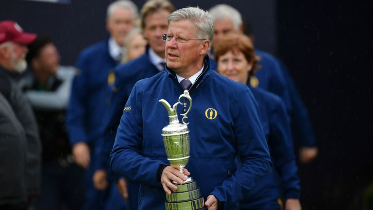 R&A chief Martin Slumbers has launched a £7m support fund