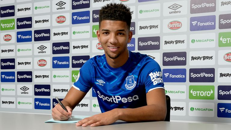 Mason Holgate joined Everton from Barnsley in 2015 and has made 74 first-team appearances