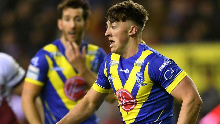 Warrington's Matty Ashton is tipped as a future star of the game