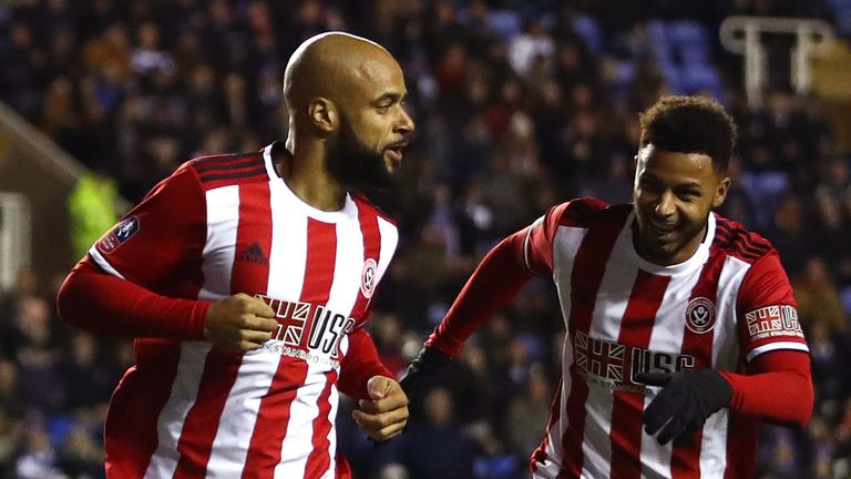 David McGoldrick opened the scoring in the 2-1 FA Cup win at Reading