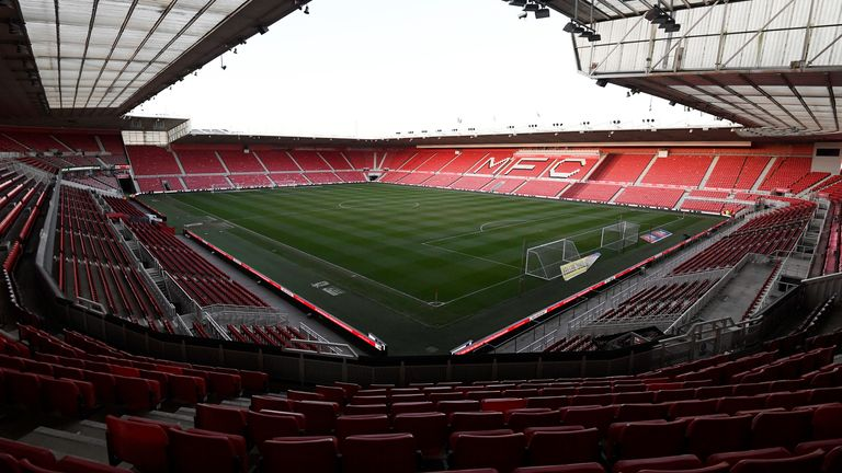 Middlesbrough's Riverside Stadium is among the host venues for the 2021 Rugby League World Cup