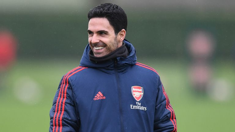 Mikel Arteta is understood to be feeling better and in good spirits having had a positive result for coronavirus last Thursday