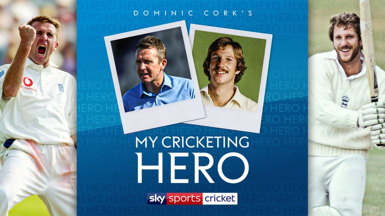 Dominic Cork has selected Sir Ian Botham as his cricketing hero
