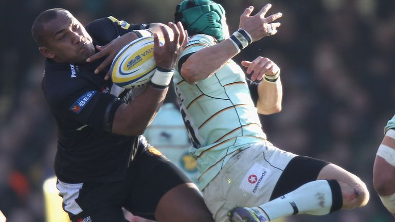 Nadolo had a five-game spell with Exeter Chiefs in 2011 which ended abruptly