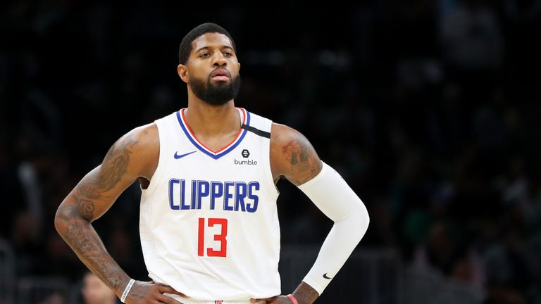 Check out Paul George's best plays from the 2019-20 season so far.
