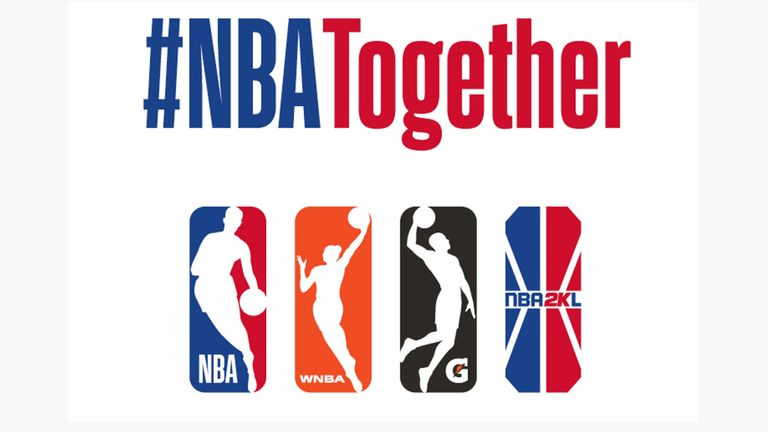 The NBA has launched the NBA Together campaign is response to the global coronavirus pandemic