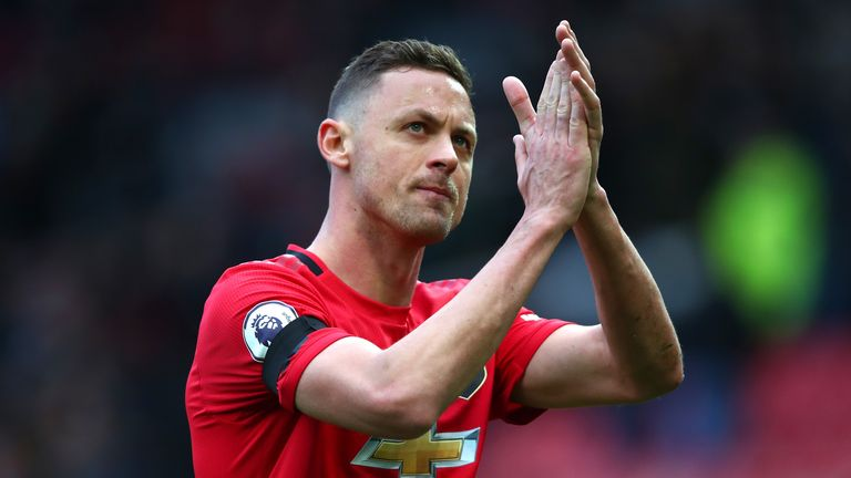 Nemanja Matic has performed well for Manchester United in recent months