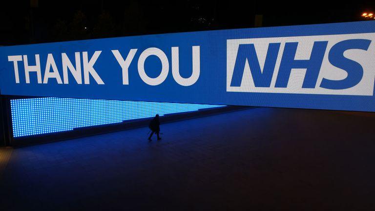 NHS applause