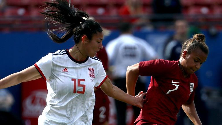 Nikita Parris impressed despite the England defeat