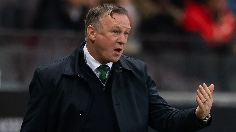 O'Neill would not rule out remaining in charge of Northern Ireland for the Euros