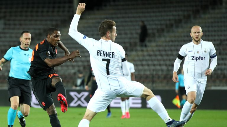 Ighalo's stunning individual effort set United on their way to a handsome victory at LASK