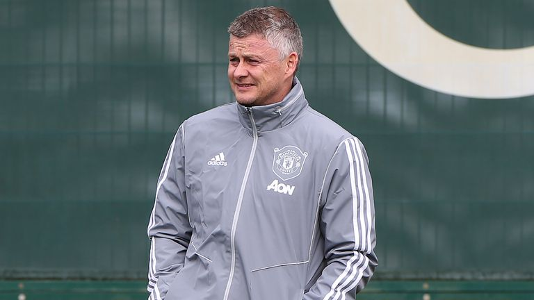 Ole Gunnar Solskjaer will not be taking Man United training on Tuesday