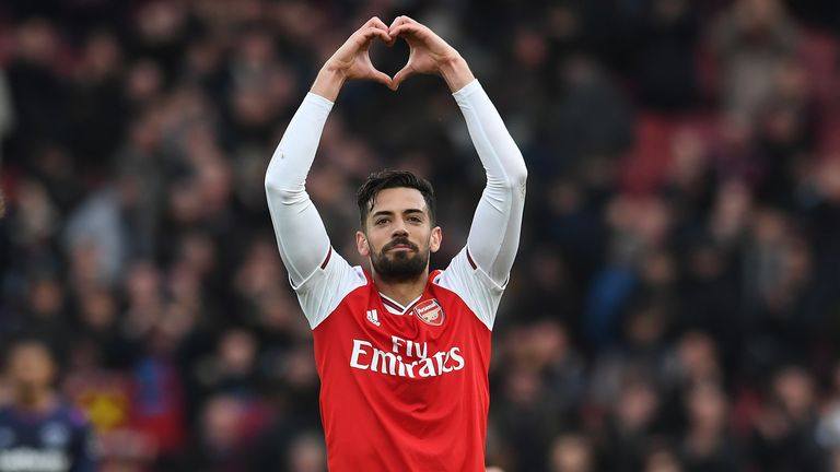 Pablo Mari hopes his future lies with Arsenal