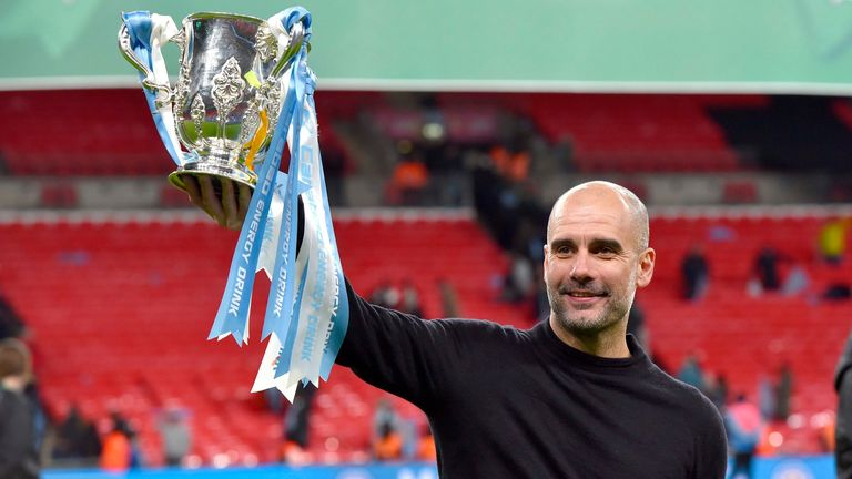 Manchester City's focus has shifted towards a possible Carabao Cup, FA Cup and Champions League treble