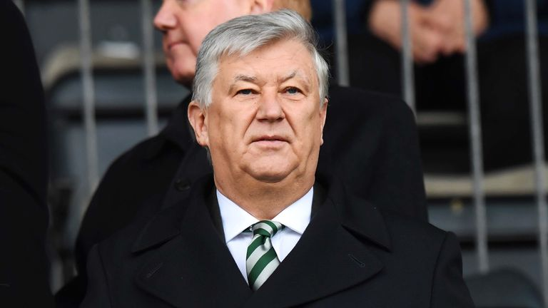 Celtic CEO Peter Lawwell