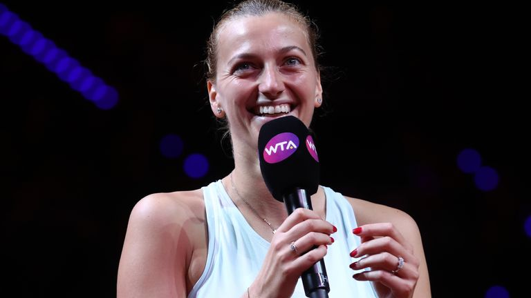 Petra Kvitova won the Porsche Tennis Grand Prix in Stuttgart last year, but the event is one of three to be called off