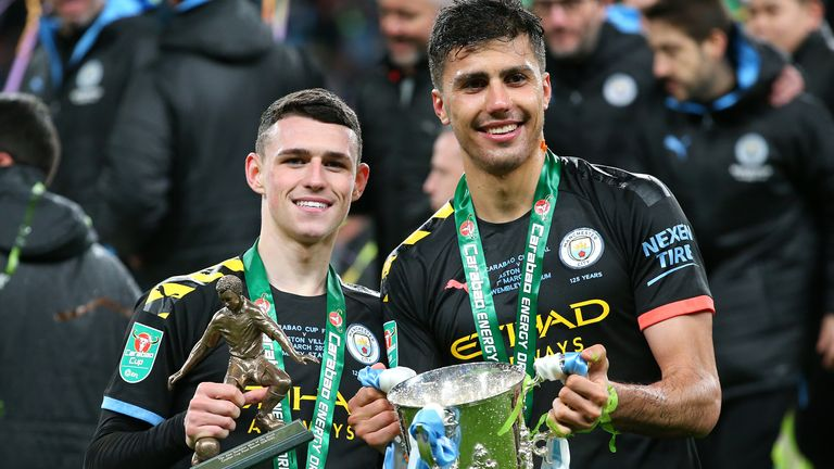 Manchester City's Carabao Cup win could still be the start of a cup treble, including the FA Cup and Champions League