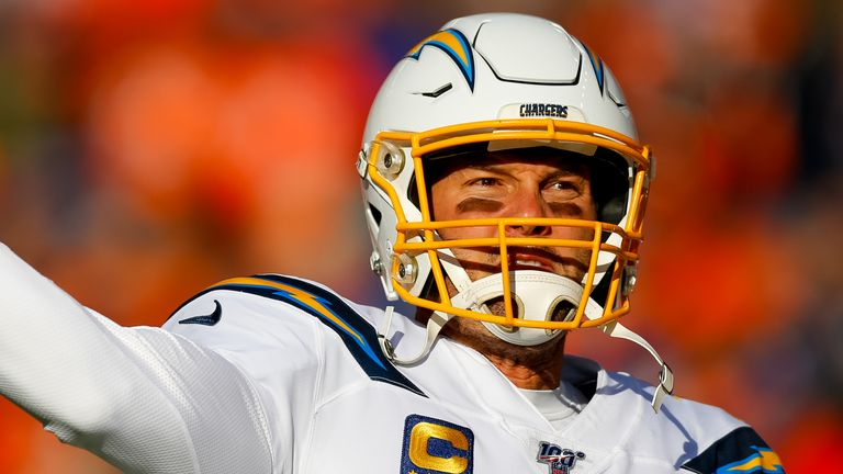 Philip Rivers played 16 seasons with the Chargers