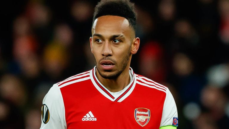 Pierre-Emerick Aubameyang will only have one year left on his current contract at the end of the season