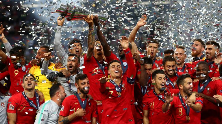 Portugal crowned Nations League champions