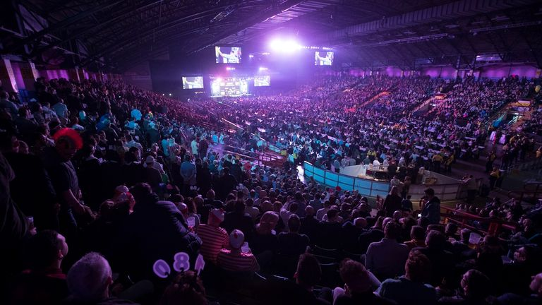 Premier League Darts in Newcastle is now scheduled to take place on October 1