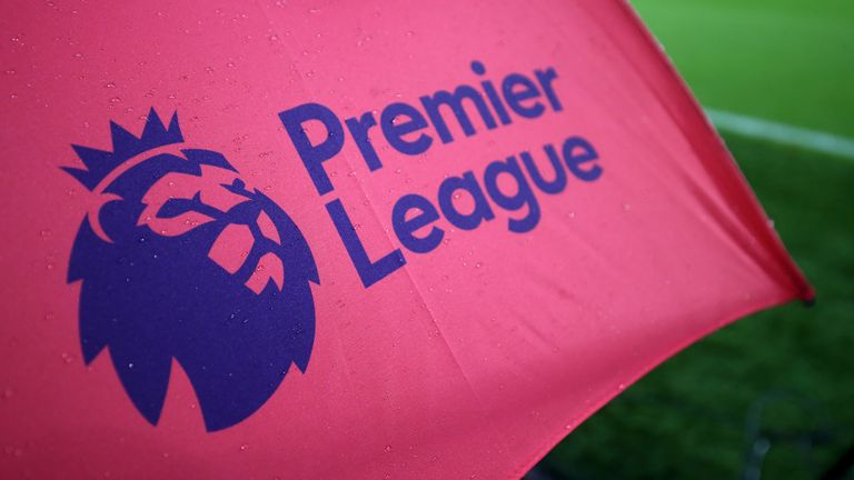 Premier League logo stock image
