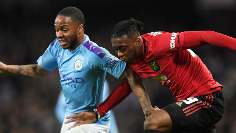 Sterling was once more well-shackled by Aaron Wan-Bissaka on Sunday