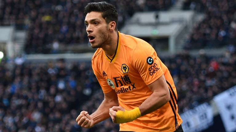 Raul Jimenez's composed finish gave Wolves the lead