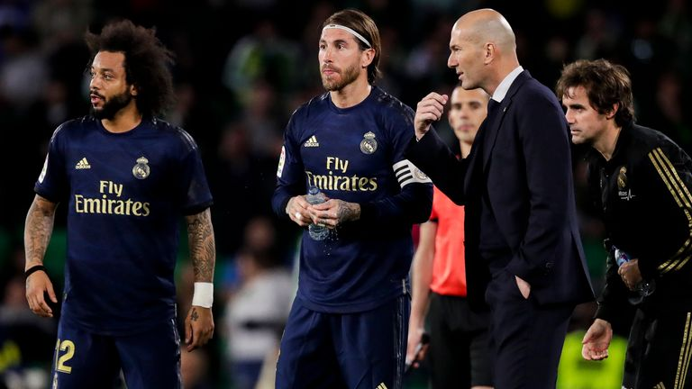 Champions League: Manchester City's last-16 tie v Real Madrid postponed