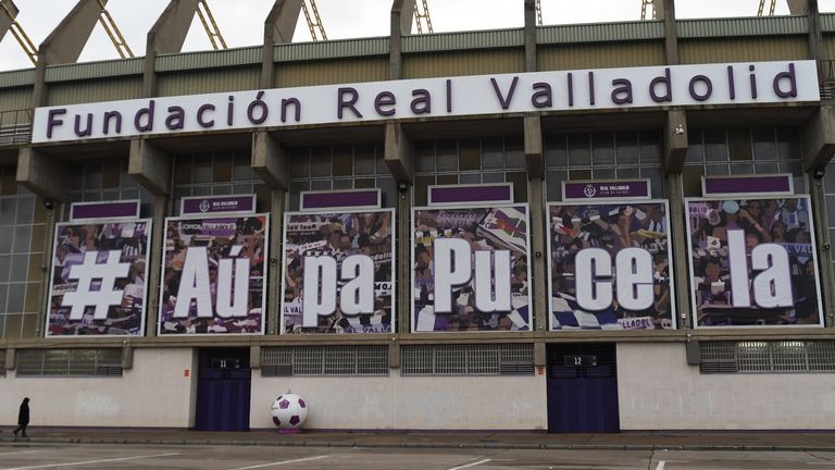 Real Valladolid have rejected La Liga's offer of coronavirus tests for their players on medical and social grounds