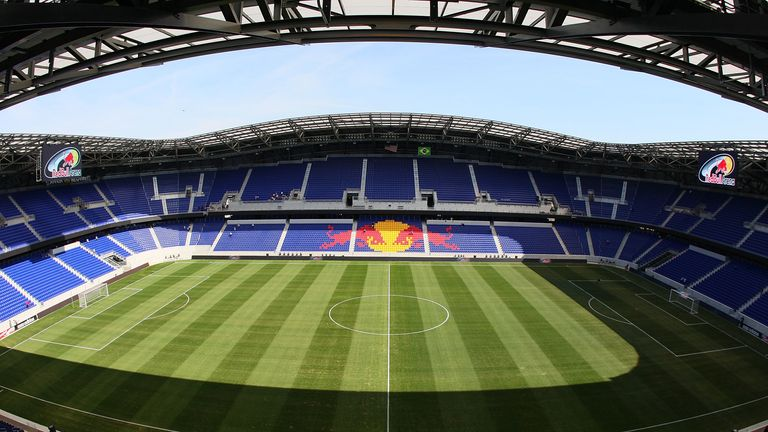 The club are planning to host matches at the Red Bull Stadium in New Jersey