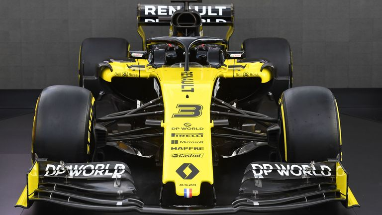 Renault team unveils new R.S.20 livery and title sponsor
