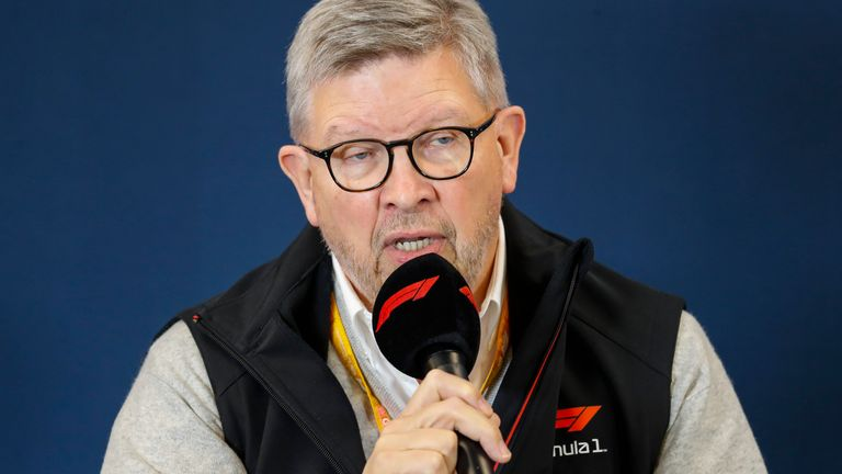 F1's managing director of motorsports Ross Brawn speaks to Sky F1's Martin Brundle about how they will reschedule races amid the coronavirus outbreak