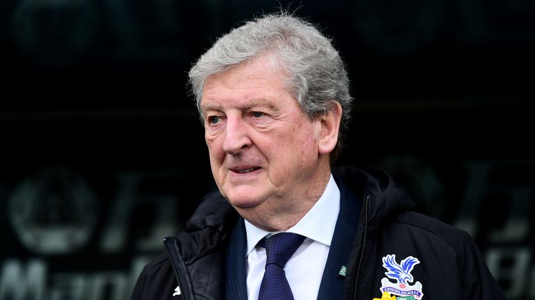 Roy Hodgson, 72, is expected back at Crystal Palace's training ground this month