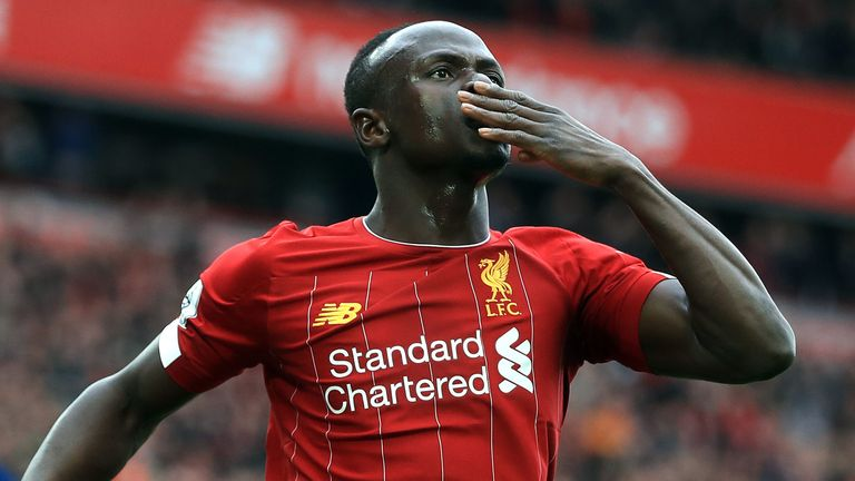 Liverpool's Sadio Mane gets Matt Le Tissier's vote