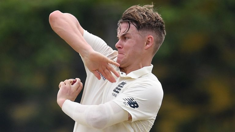 Sam Curran out of practice match after coming down with sickness