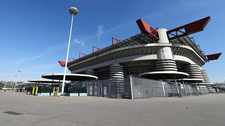 The demolition of the San Siro has moved a step closer