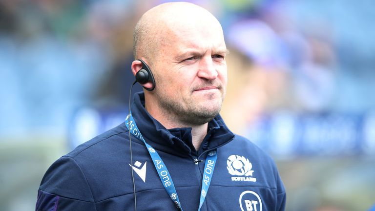 Russell says his relationship with Gregor Townsend has improved