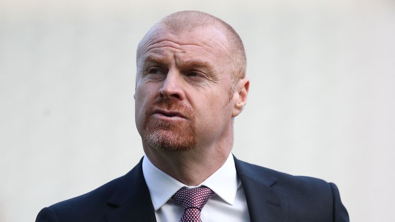 Sean Dyche says health is more important than anything