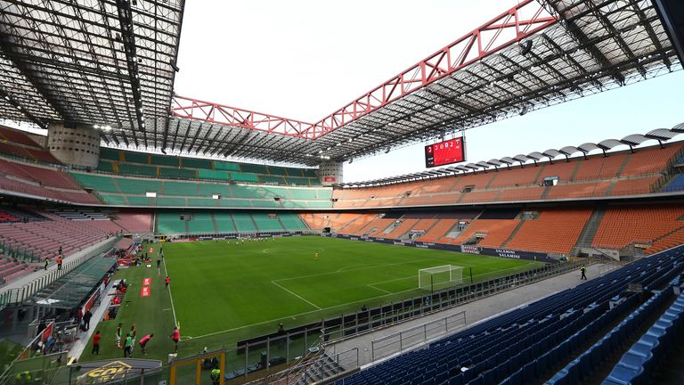 AC Milan and Inter share the stadium