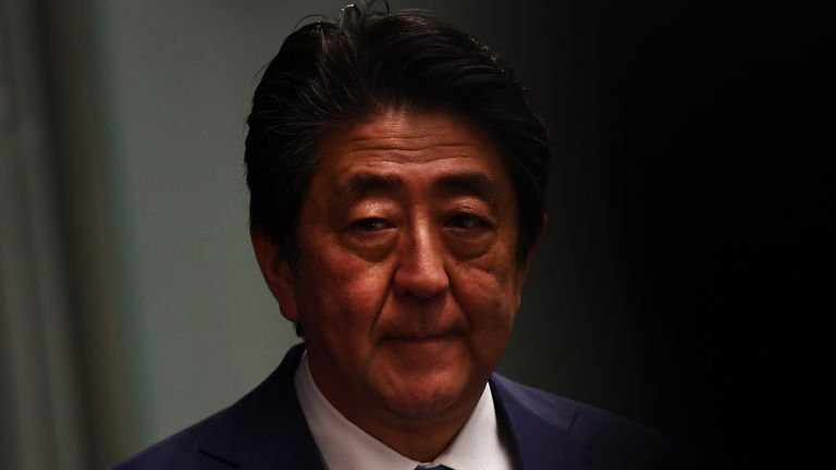 Japanese Prime Minister Shinzo Abe has been in talks with the IOC over what happens next