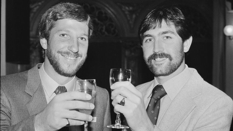 Sir Ian Botham and Graham Gooch were two key players for England over the 1980s