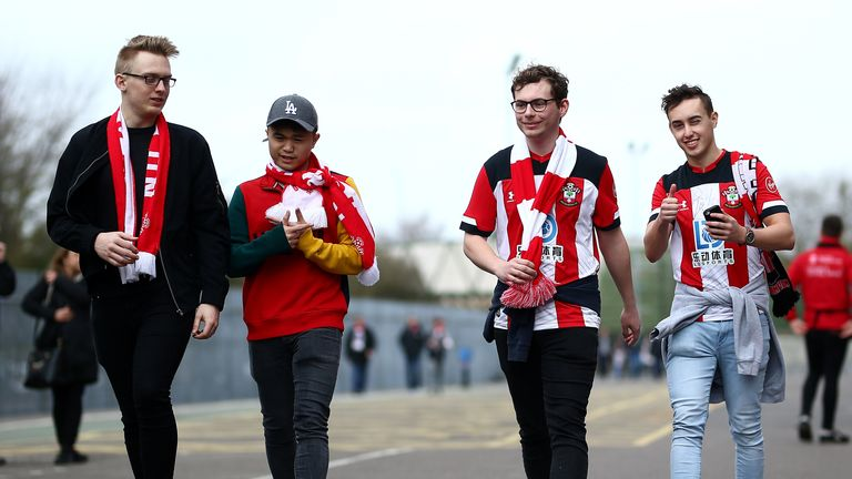 Southampton's Saints Foundation has shared online exercises to help stay active