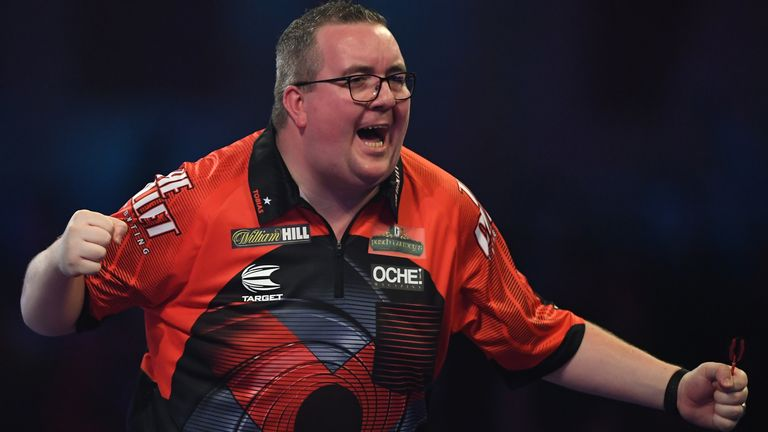Stephen Bunting suffered his first defeat, but it proved pivotal in the final match of Wednesday's action