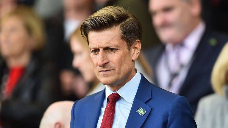 Chairman Steve Parish says Crystal Palace have offered staff assurances over pay amid the coronavirus pandemic.