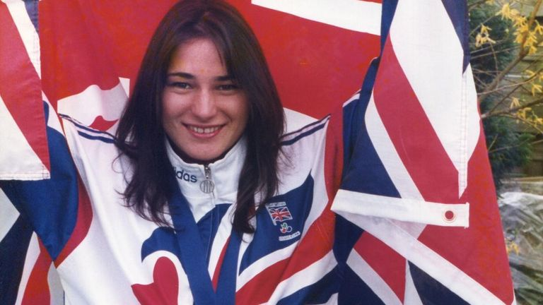 It was gold again - three of them - for Storey in the pool at the Atlanta Games in 1996