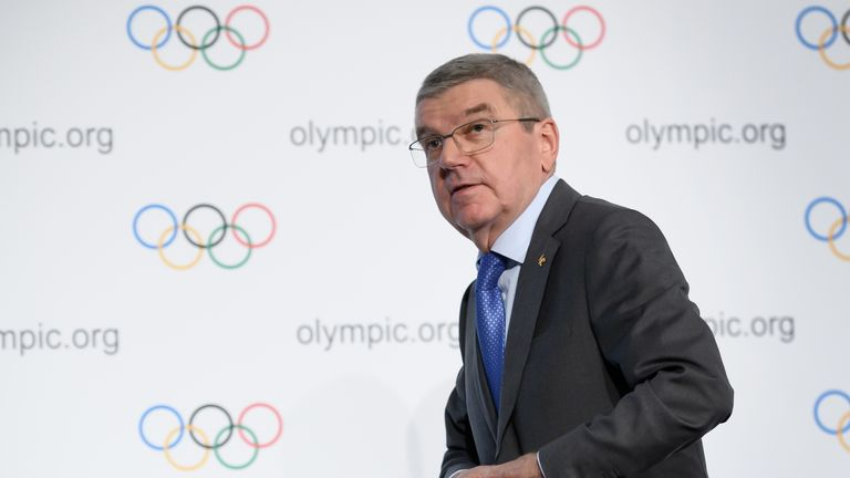 Bach has expressed concern over the use of the Athletes Village in 2021