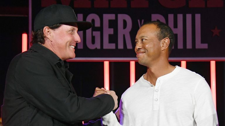 Phil Mickelson hints at rematch with Tiger Woods during coronavirus pandemic