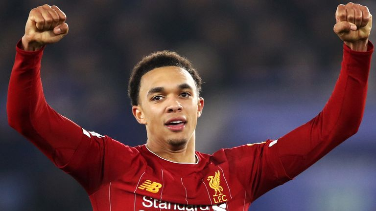 Trent Alexander-Arnold starred for Liverpool in their win at Leicester